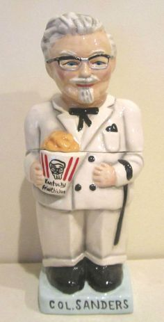 Kentucky Fried Chicken Colonel Sanders Cookie Jar Limited Edition