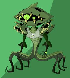 Ben 10 Omniverse: Ultimate Wildvine_by Insane-Mane Ben 10 Omniverse, Aliens, Ben 1o, Fallout Wallpaper, Ben 10 Birthday, Ben 10 Ultimate Alien, Ben 10 Alien Force, Alien Races, Weird Creatures