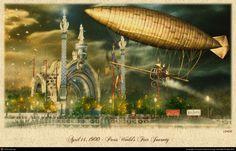 April 14, 1900 Paris World\'s Fair... by laurent antoine lemog | 3D | CGSociety