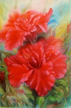 Oil painting  Artist Blerta Fili