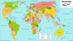 World Maps With Countries. There is a growing collection of the latest and best World Maps maps, and today I want to share the best gallery for you and we hope you like it. World maps wit… Cool World Map, World Map Decor, Iran Travel, Poland Travel, Eastern Europe Map, Bird Paper Craft, The Wonderful Country, World Map With Countries, Malaysia Travel Guide