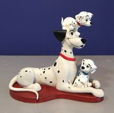 "Vintage 1996 WDCC ""Proud Pongo"" witj Pepper & Penny Porcelain Figurine in box COA 101 Dalmatians by KitschyCollection on Etsy https://www.etsy.com/listing/482659279/vintage-1996-wdcc-proud-pongo-witj"