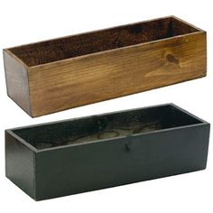 Wood Planter Box - Great for Succulents Wedding Centerpieces