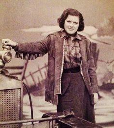 Patsy on the Arthur Godfrey Set....Circa (1957)