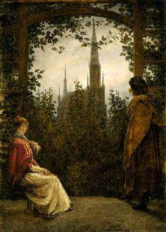 Caspar David Friedrich - Gartenlaube