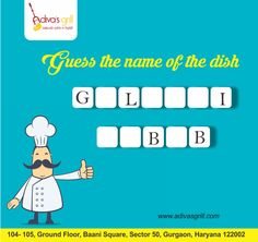#FoodQuiz  Guess the name of the dish and get food vouchers worth Rs 500 if you get it right!