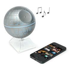 Star Wars Death Star Wireless Bluetooth Speaker - every man needs this!