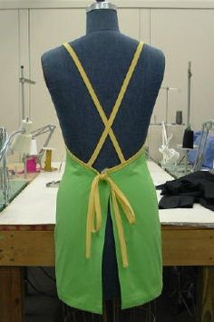 Criss-Cross Back with Buttons