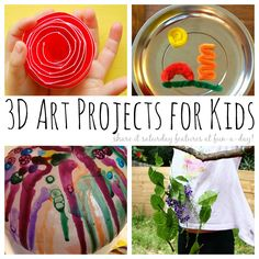 20+ 3D Art Projects for Kids