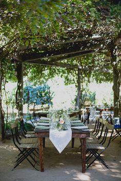 Summer Garden Wedding at Campovida :: Rebecca & Omar