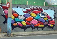 Divagando, Grafite e Design: Arte e Cores nas ruas de Salvador