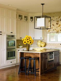 Decisions, Decisions - Kitchen Cabinets: Should You Replace or Reface?  on HGTV