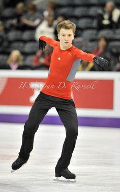 Misha Ge (Uzbekistan) Plactice : World Figure Skating Championships 2013 in London(CANADA)