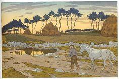 Blog of an Art Admirer: Henri Rivière (1864 -1951) French artist and designer