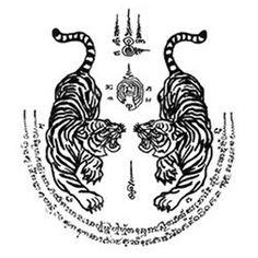 Temporary tattoos thai tattoo frauen, tatoo muay thai tattoos, … – tattoos for women meaningful Cross Tattoos, Leg Tattoos, Body Art Tattoos, Small Tattoos, Tattoos For Guys, Sleeve Tattoos, Dragon Tattoos, Dragon Tiger Tattoo, Spine Tattoos