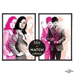 Triple #PopArt Pair of #TheAvengers prints http://artandhue.com/shop/triple-pop-art-pair/ #mrspeel #johnsteed