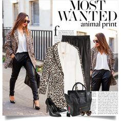 """http://www.cashmereinstyle.com/2013/11/leather-joggers.html#more"" by lisamichele-cdxci on Polyvore"