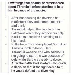 And then you have to look into why his treatment of Thorin was pretty reasonable and understandable---YES! Thranduil is a GOOD GUY! Legolas And Thranduil, Gandalf, Fellowship Of The Ring, Lord Of The Rings, Bilbo Baggins, Fandoms, Jrr Tolkien, One Ring, The Elf