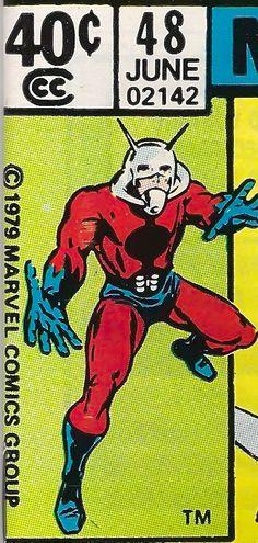 Marvel Premiere corner box - Ant-Man