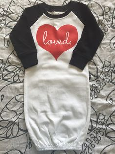 Raglan Baby Gowns | Many Designs For handmade dolls that have interchangeable eyes and mouths, visit jessicadolls.com!