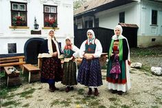 Costumes from Torocko - Rimetea