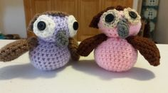 Cute crocheted owl pair can be purchased here:  https://www.etsy.com/listing/204422046/set-of-2-amigurumi-owls?ref=shop_home_active_17