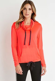Perforated Funnel-Neck Pullover | Forever 21 - Shop @ FitnessApparelExpress.com