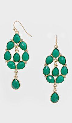 Niva Chandelier Earrings in Paris