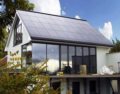 Residential property with solar PV roof