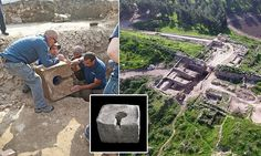 Archaeologists have unearthed a shrine hidden within the ruins of the city gate at Tel Lachish in Israel. Inside the shrine they found a stone toilet that was installed by King Hezekiah.