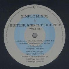 Simple Minds – Waterfront / Side B. By Malcolm Garrett.