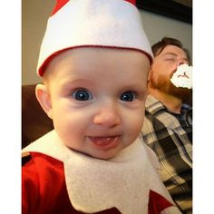 Dad Turns Monthold Son Into Mischievous Leprechaun For St - Dad turns his 6 month old son into real life leprechaun for st patricks day