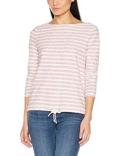 Oliver 14.801.31.6088, Manches Longues Damen T-Shirt: - Sweartshirt  Oberteil Langarmshirts Trends Frauen langarmshirts damen langarmshirts  kombinieren ...