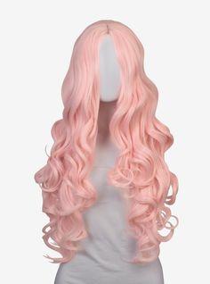 Pastel Wig, Pink Wig, Epic Cosplay, Cosplay Wigs, Cosplay Hair, Cosplay Outfits, Anime Cosplay, Long Pink Hair, Side Curls