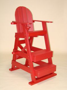 Perfect Tailwind Furniture Recycled Plastic Lifeguard Chair   LG 510