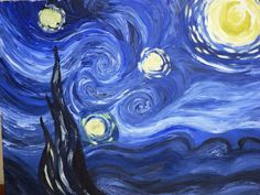 Moma Vincent Van Gogh The Starry Night 1889 - 900×675