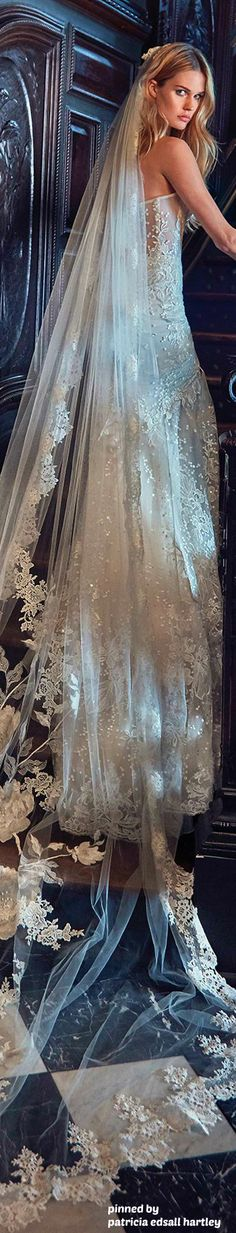 My Daughter's Wedding- Galia Lahav Collection- Le Secret Royal 2017 Amazing Wedding Dress, Beautiful Wedding Gowns, Beautiful Dresses, Dream Wedding, Beautiful Bride, Summer Wedding, Bridal Dresses, Bridesmaid Dresses, Bridal Veils
