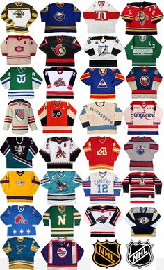 NHL Original Jerseys