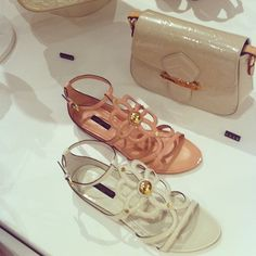 Lovely Louis Vuitton sandals in the new store #lvresort #louisvuitton - @chiaraferragni- #webstagram