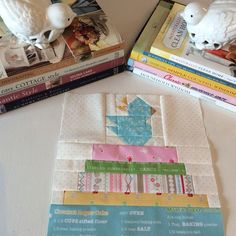 """Oh my gosh – I've been having SO much fun with the Vintage Farm Girl Quilt! I started out making two of all of my favorite blocks – not really sure what I'd do with the extra 9"""" blocks at the time (doing mine in 9 inchers ;)! Well, as..."""