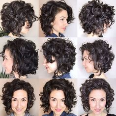 I'm loving this shape! I find that I can let go of perfection with my waves an. - - I'm loving this shape! I find that I can let go of perfection with my waves and embrace them in whatever form they take as long as: I… - Haircuts For Curly Hair, Curly Hair Cuts, Short Bob Hairstyles, Short Hair Cuts, Short Hair For Curly Hair, Curly Hairstyles For Medium Hair, Curly Lob Haircut, Short Layered Curly Hair, Thin Wavy Hair