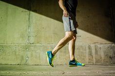 Nike Flyknit Lunar 2 Mens Volt Blue