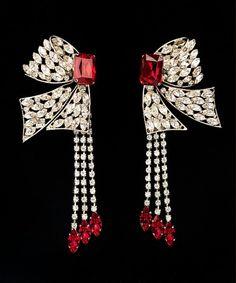 Earrings Yves Saint Laurent, 1983 The Metropolitan Museum of Art