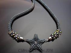 Beaded Starfish Tutorial/ Seed Bead Starfish/ by CSBriccaDesigns