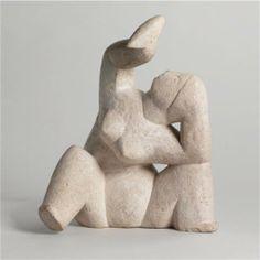 Femme à L'Oiseau - Henri Laurens