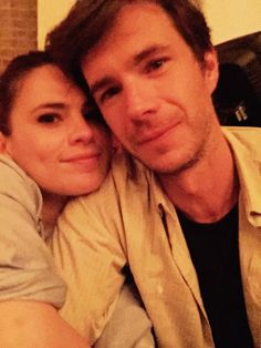 July 10, 2015 9.06 pm: Hayley Atwell (twitter) - Peg and Jarx x.