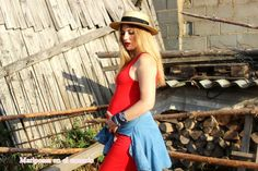 Mariposas en el armario: Un vestido rojo siempre da subidón ; ).
