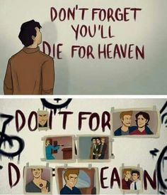 I did it all for you,Dean   wooh but for me it's little creepy!! XD