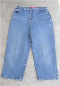 Womens Gloria Vanderbilt Capri Stretch Jeans 31x23 1/2 - $19.95