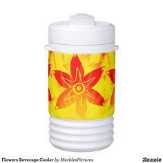 Flowers Beverage Cooler Igloo Beverage Dispenser #flower #cooler